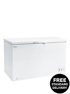 hoover-cfh382awk-412-litre-chest-freezer-white