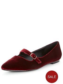 v-by-very-florence-velvet-point-flat-shoes-burgundy