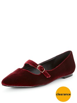 v-by-very-florence-velvet-point-flat-shoes-burgundy