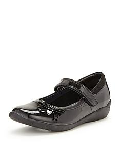 clarks-junior-girls-gloforms-ting-fever-patent-strap-school-shoes