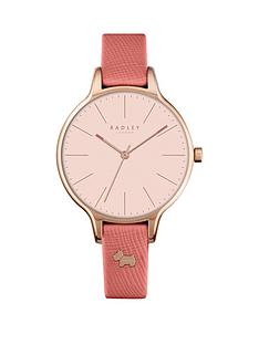 radley-radley-saffiano-papaya-light-pink-dial-dog-stud-leather-strap-ladies-watch
