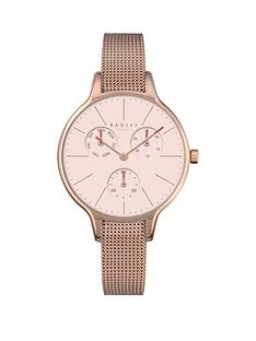 radley-radley-saffiano-papaya-light-pink-dial-chronograph-rose-tone-mesh-bracelet-ladies-watch