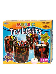decorate-mosiac-tea-lights