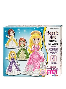 mosaic-art-princess-ball-gowns