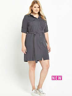lovedrobe-lovedrobe-pocket-shirt-dress