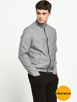 river-island-checked-harrington-bomber-jacket