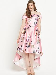chi-chi-london-curvenbspfloral-bardotnbspfull-midi-dress