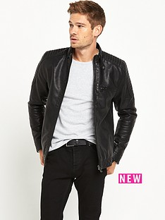 river-island-leather-look-biker-jacket