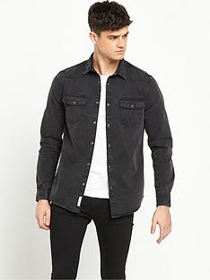 river-island-long-sleeve-denim-shirt