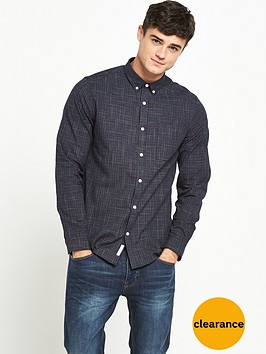 river-island-cracked-print-textured-shirt