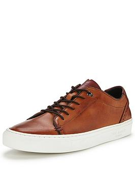 ted-baker-kiing-leather-plimsoll