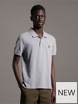 lyle-scott-pique-polo-mid-grey-marlnbsp