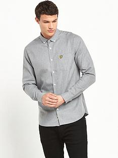 lyle-scott-marl-flannel-shirt