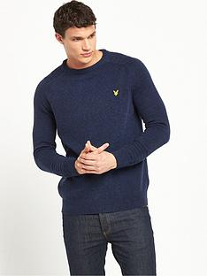 lyle-scott-links-detail-crew-necknbspjumper