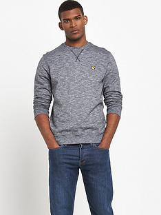 lyle-scott-mouline-crew-neck-sweatshirt