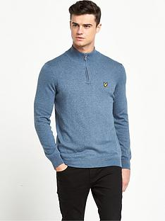 lyle-scott-half-zip-merino-jumper
