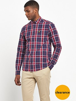 lyle-scott-check-shirt