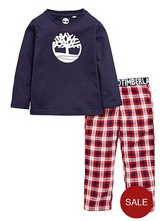 timberland-boys-logo-pyjamas-set