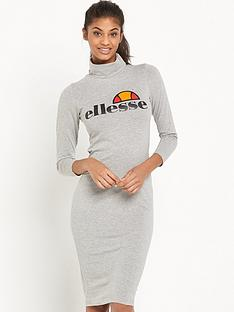 ellesse-balbina-roll-neck-dress