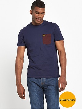 lyle-scott-contrast-pocket-t-shirt