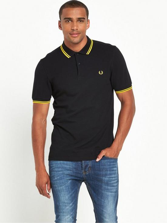 838f33bd Fred Perry Original Twin Tipped Polo | very.co.uk