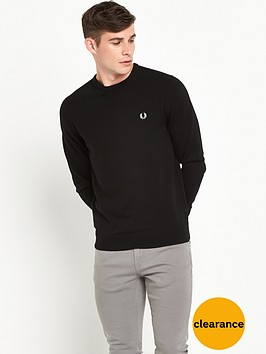 fred-perry-merino-crew-neck-jumper