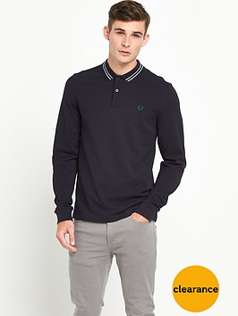 fred-perry-bomber-stripe-collar-polo