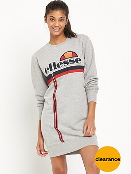 ellesse-adreana-crew-dress