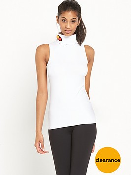 ellesse-vera-roll-neck-sleeveless-t-shirt