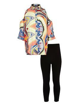 river-island-girls-cold-shoulder-shirt-and-leggings-set