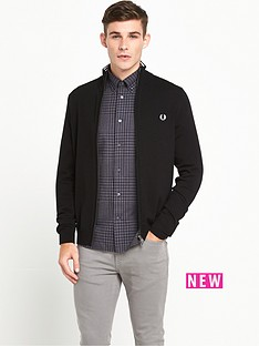 fred-perry-merino-zip-cardigan