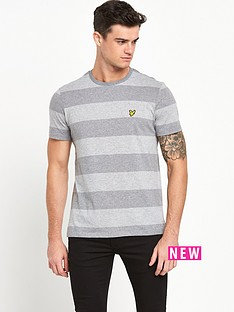 lyle-scott-wide-stripe-t-shirt