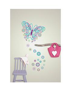 wallpops-social-butterfly-large-wall-art-reusable-sticker-kit