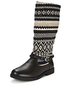 joe-browns-funky-aztec-biker-boots