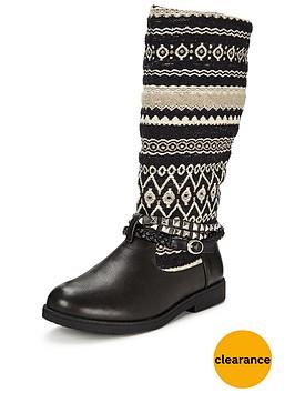 joe-browns-funky-aztec-biker-boots