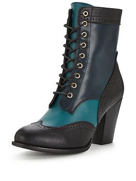 joe-browns-inspirational-ankle-boots-teal