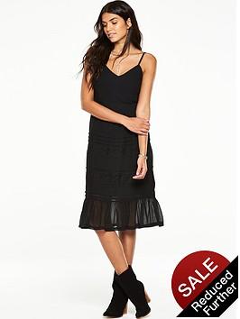 v-by-very-lace-trim-midi-dress