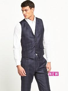 ted-baker-ted-baker-hunter-check-suit-waistcoat