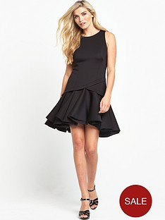 coast-crysta-trim-dress-black