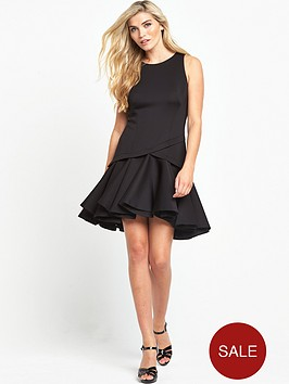 coast-crysta-trim-dress-black