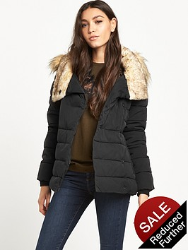 warehouse-short-luxe-quilted-coat
