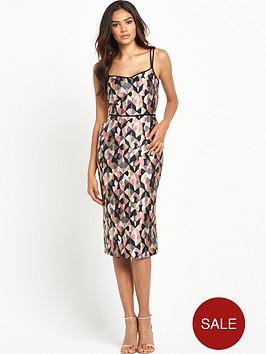 warehouse-margot-texturednbspstrappy-dress