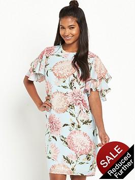 warehouse-floral-print-dress