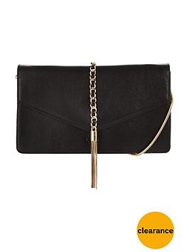 lydc-chain-detail-clutch-bag-black