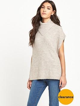 warehouse-cowl-neck-jumper