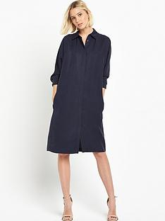 warehouse-batwing-shirt-dress
