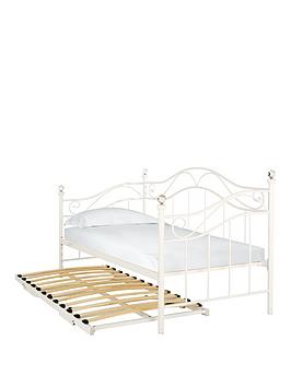 stella-metal-single-day-bed-and-pull-out-trundle-guest-bed-with-optional-mattresses-white