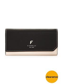 fiorelli-drew-flapover-purse-monochrome