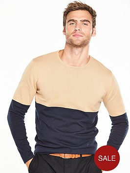 v-by-very-colour-block-jumper