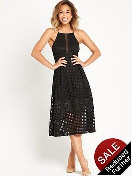 myleene-klass-full-skirted-lace-dress-with-cross-over-straps